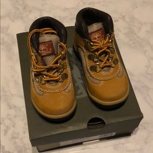Toddler Timberland Wheat Nuback boots